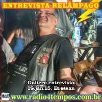 Rádio 4 Tempos - Entrevista Relâmpago 01