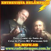 Rádio 4 Tempos - Entrevista Relâmpago 19