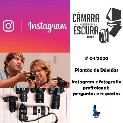 Instagram e fotografia profisssional