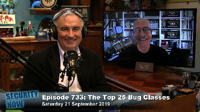 SN 733: Top 25 Bug Classes