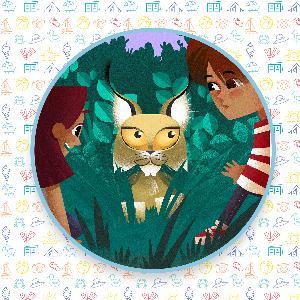 Les enfants et le lynx