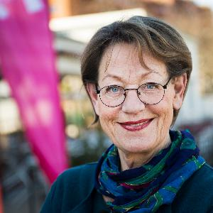 22. Gudrun Schyman, partiledare Feministiskt initiativ
