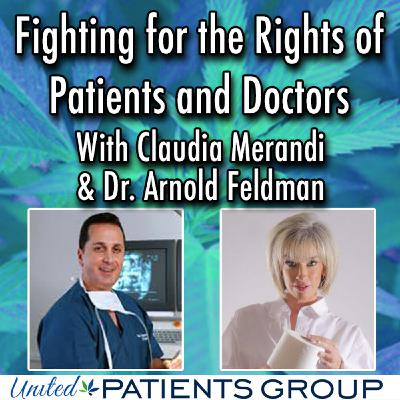 Fighting for the Rights of Pain Patients and their Doctors with Claudia Merandi & Dr. Arnold Feldman