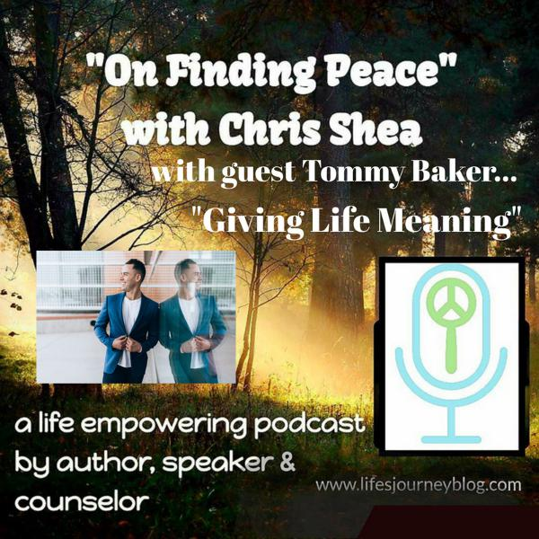 Giving Life Meaning - an interview with Tommy Baker