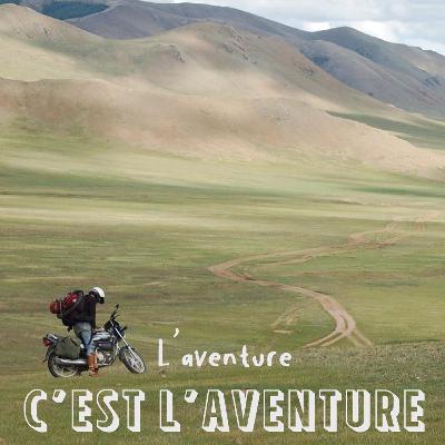 #1 En moto à travers les steppes mongoles - Basile