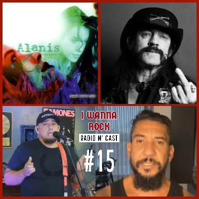 I Wanna Rock #15- 25 anos de Jagged Little Pill, Cinebiografia de Lemmy em produção e pazes no Raimundos.