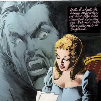 Comic Book Character Of The Month - Dracula - Dracula Lives AGAIN!