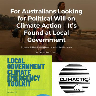 Laura Phillips | For Australians Looking for Political Will on Climate Action – It's Found at Local Government