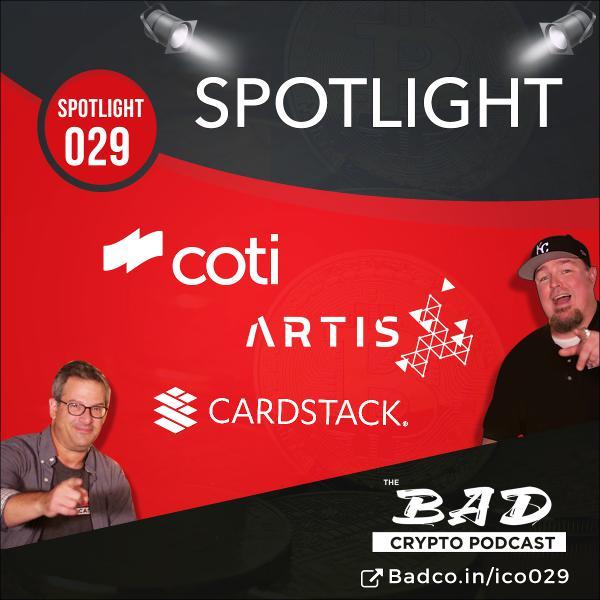 Spotlight: Cardstack, Coti, Artis