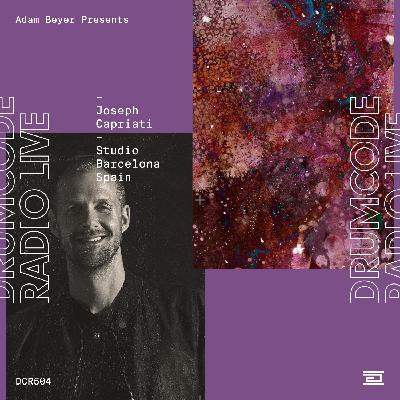 DCR504 – Drumcode Radio Live – Joseph Capriati studio mix recorded in Barcelona