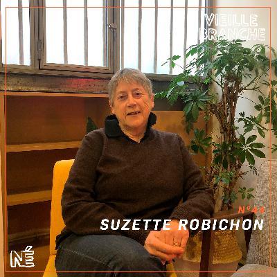 Suzette Robichon, éditrice, écrivaine et militante féministe