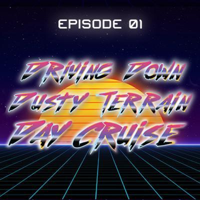 Driving Down Dusty Terrain - Day Cruise