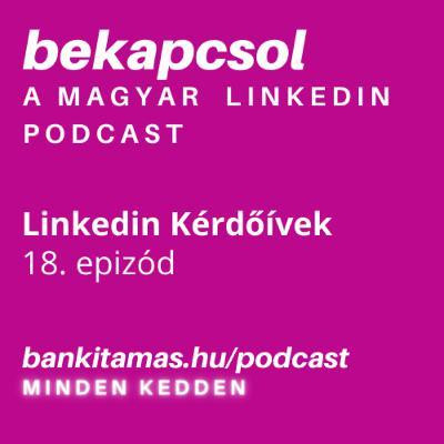 18. epizód - Linkedin Polls és más - Bekapcsol, a magyar Linkedin podcast