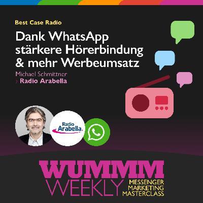 Michael Schmittner – Wie sorgt WhatsApp für mehr Werbeumsatz und starke Hörerbindung?