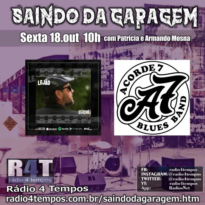 Rádio 4 Tempos - Saindo da Garagem 01:Rádio 4 Tempos