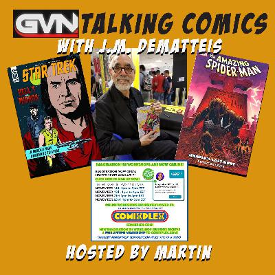 GVN Presents: Talking Comics with J.M. DeMatteis