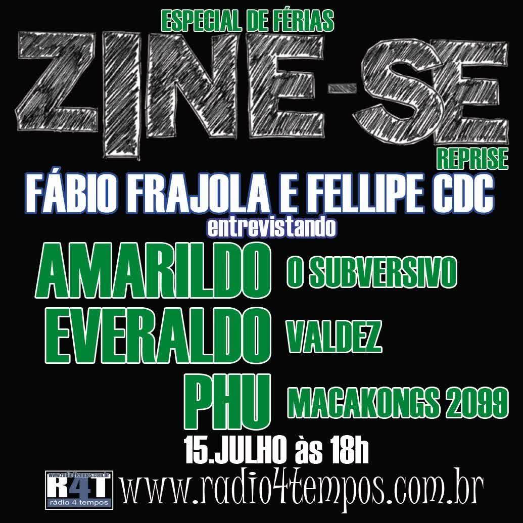 Rádio 4 Tempos - Zine-se 62