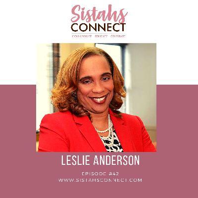 Episode #42: Trailblazer and Community Builder Leslie Anderson Talks About Leadership