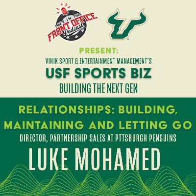 Finding your Card with Luke Mohamed, Director of Partnership Sales, Pittsburgh Penguins - USF Vinik