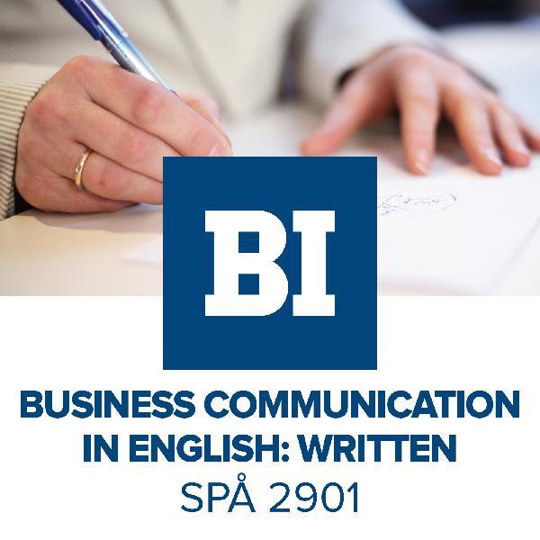 Business communication in English, Written | Listen Free on