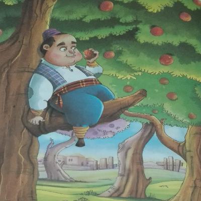 قصههای پندآموز کهن؛ درخت خدا، چوب خدا، دست خدا