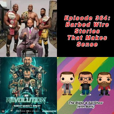Episode 364: Barbed Wire Stories That Make Sense (Special Guests: Jon Parker & Zack Heydorn, Cody Rhodes AEW Conference Call)