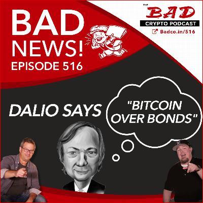 "Dalio Says ""Bitcoin Over Bonds"" - Bad News For 5/26/21"