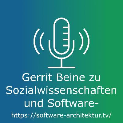 Gerrit Beine zu Sozialwissenschaften und Software-Architektur