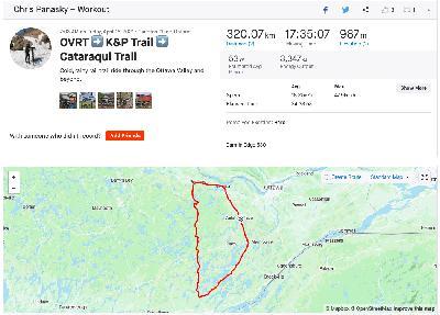 BTA Ridecast - OVRT, K&P Trail, Cataraqui Trail