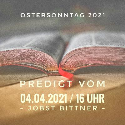 JOBST BITTNER - 04.04.2021 / 16 Uhr