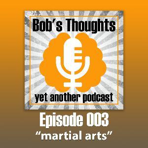 Ep. 003 Martial Arts