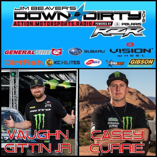 Vaughn Gittin Jr, Casey Currie, & Matt Martelli On Air!