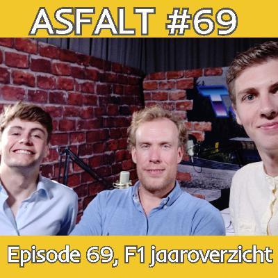 Daar is ie! Episode nummer 69, het F1 jaaroverzicht - ASFALT#69
