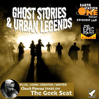 The Earth Station One Podcast - Ghost Stories and Urban Legends