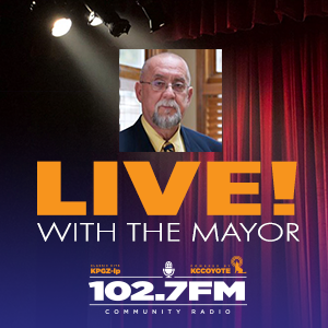Live! With the Mayor on 102.7 KPGZ