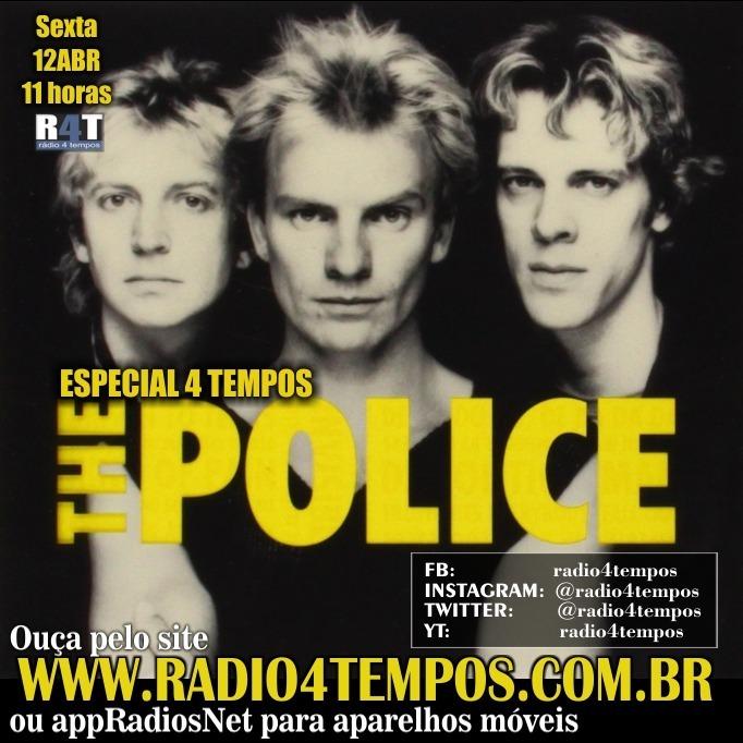 Rádio 4 Tempos - Especial 4 Tempos - The Police
