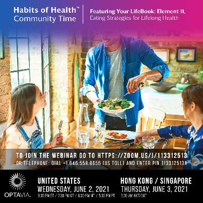 Episode 227: Your LifeBook, Element 11: Eating Strategies for Lifelong Health