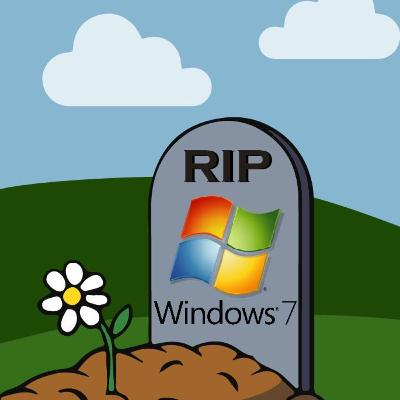 Ep. 77 What comes up must come down, .... R.I.P Windows 7