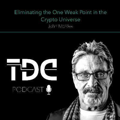 John McAfee - Eliminating the One Weak Point in the Crypto Universe