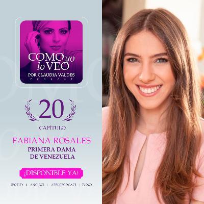 T1 Cap 20 Fabiana Rosales Primera Dama de Venezuela
