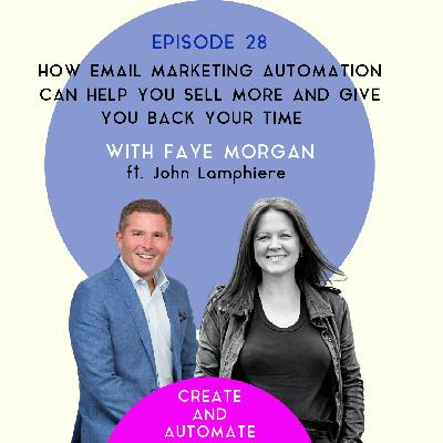 How email marketing automation can help you sell more and give you back your time with John Lamphiere | 28
