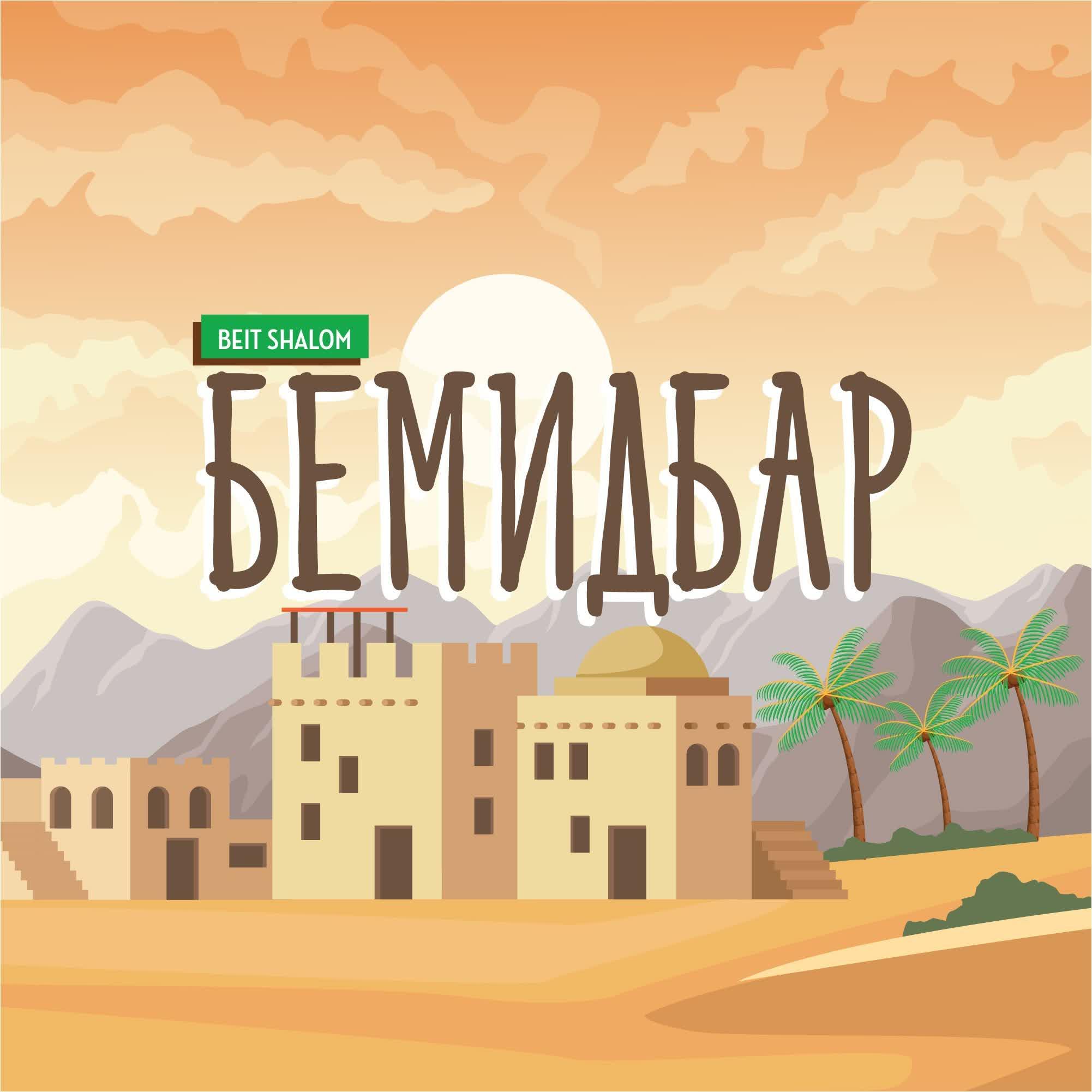 """Бемидбар 5775 """"Но вы примите силу"""". (А.Огиенко, 23.05.2015)"""