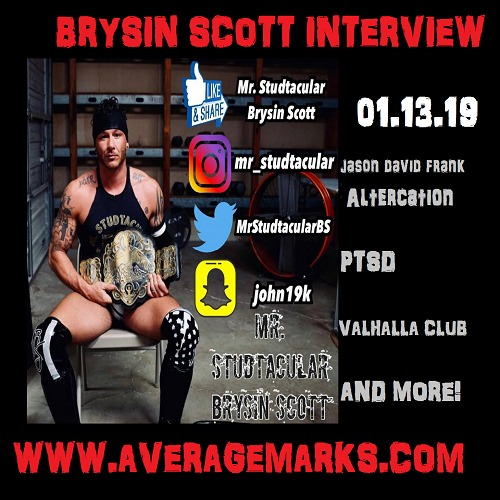 BRYSIN SCOTT INTERVIEW // Jason David Frank, PTSD, Valhalla Club