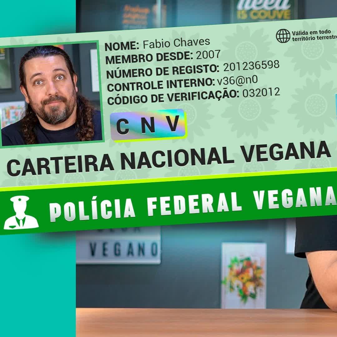 Tentando tirar minha CNV (Carteira Nacional Vegana)