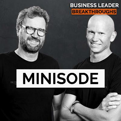 MINISODE 5 -  Overcoming the overwhelming state of busyness in your business and personal life