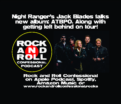 Night Ranger's founding member, vocalist and bassist, Jack Blades joins us.
