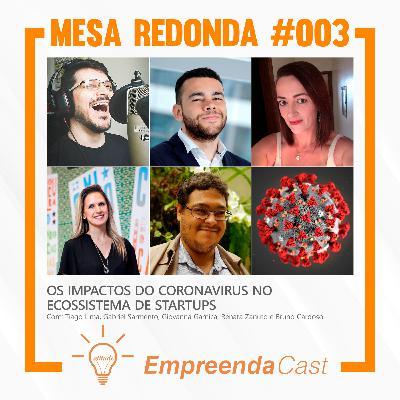 Os impactos do coronavirus no ecossistema de startups | Mesa Redonda do Empreendacast | T01E03