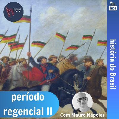 Período Regencial II: História do Brasil (aula 14)