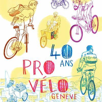 Episode 68 : ProVélo Genève a 40 Ans