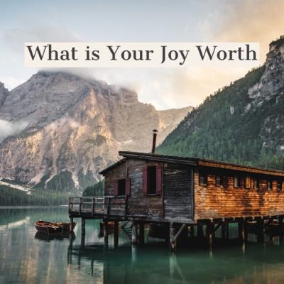 What is Your Joy Worth